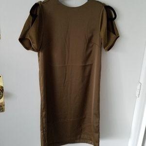 H&M olive green dress 4 nwt